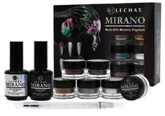 Mirano - Multi-Effx Metallic Pigment Kit 2 - LECHAT NAILS