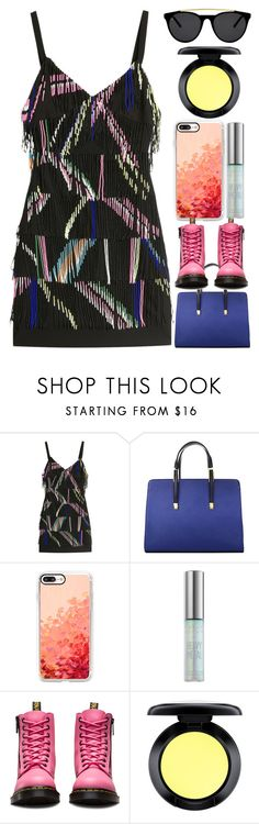 """""""Fireworks"""" by egordon2 on Polyvore featuring Preen, Casetify, Urban Decay, Dr. Martens, MAC Cosmetics and Smoke x Mirrors"""