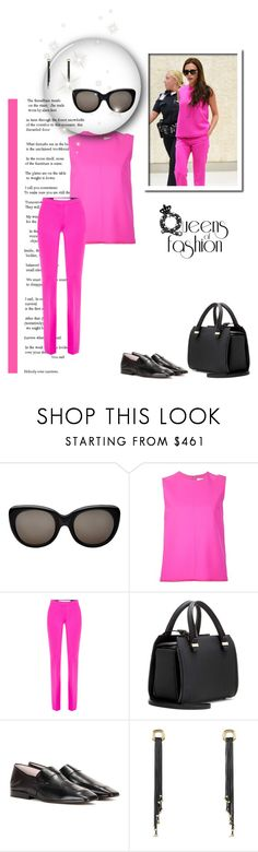 """""""Queen Victoria"""" by leanne-mcclean ❤ liked on Polyvore featuring Victoria Beckham, Victoria, Victoria Beckham, David Yurman, victoriabeckham and beckham"""