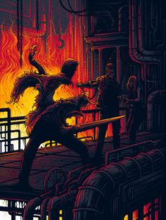 """""""It would die to protect him"""" - T2 by Dan Mumford"""