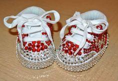 Swarovski toddler / baby tennies sneakers