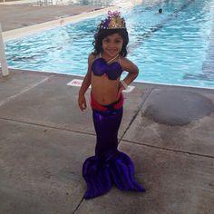 Mermaid costume by CallMeBettieCo on Etsy
