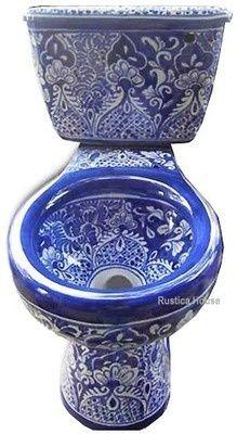 Blue Mexican Porcelain God           ᘡղbᘠ