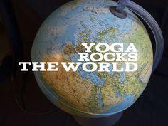 Yoga rocks the world