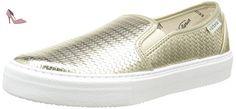 Victoria Slip On Tej Trenza Metalizado, Sneakers Basses mixte adulte, Or (51 Oro), 38 EU - Chaussures victoria (*Partner-Link)