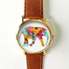The 'Ella' Timepiece. Every purchase goes towards elephant conservation.