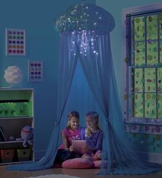 HearthSong Aquaglow Light-Up  Jellyfish Hideaway Room Play Spaces from HearthSong on Catalog Spree, my personal digital mall. $99.99