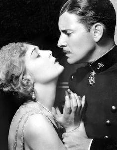 Still from the 1927 silent film The Magic Flame. The film is lost.