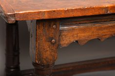 For Sale on - Fine century English oak refectory table, the well patinated three plank top with breadboard ends over stretcher base having channel molded and Library Table, Sofa Tables, 17th Century, Plank, Kitchen Dining, Entryway Tables, Cottage, English, Inspiration