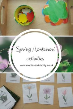 Spring Montessori Activities