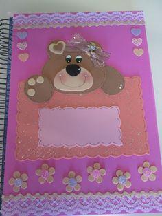 capa de caderno eva ursinho - Pesquisa Google