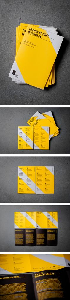 Design Silesia – brochure by Marta Gawin