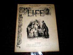 Life New York September 1, 1887 Volume X
