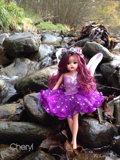 Rerooted Sindy blackthorn fairy