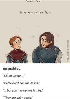 Bucky and Spidey in the Soul Stone Funny Marvel Memes, Dc Memes, Avengers Memes, The Avengers, Tom Holland, Bucky Barnes, Bucky And Steve, The Villain, Marvel Dc Comics