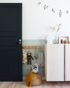 We all know how difficult it is to decorate a kids bedroom. A special place for any type of kid, this Shop The Look will get you all the kid's bedroom decor ide Baby Zimmer Ikea, Half Painted Walls, Kids Room Design, Kid Spaces, Kids Decor, Kids Bedroom, Bedroom Ideas, Bedroom Decor, Modern Bedroom