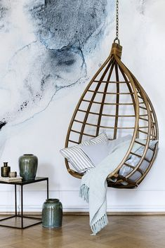 Hanging Egg Chair by Broste Copenhagen