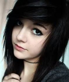 Image result for layered emo hair