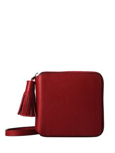 Shop Wine Red Leather Exquisite Design Wallet online at Jollychic,FREE SHIPPING!