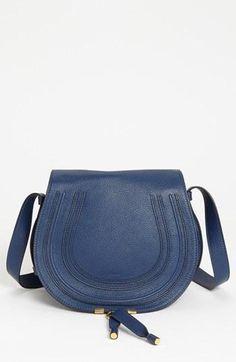 d2bca23a869a Chloe  Marcie  Leather Crossbody Bag  1