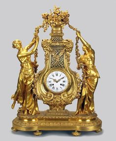AN IMPRESSIVE OUT OF THE ORDINARY VERY HIGH QUALITY FRENCH MANTLE CLOCK Napoleon III - 1850-1860