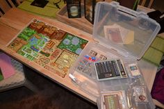Custom Legend of Zelda board game!