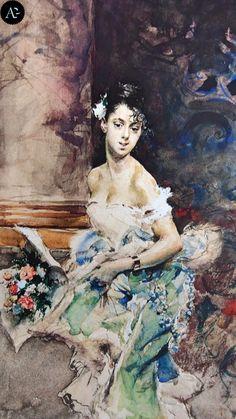 Giovanni Boldini | giovane signora