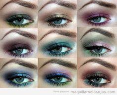 9 ideas diferentes para maquillar ojos verdes