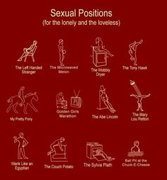 Funny sex position names