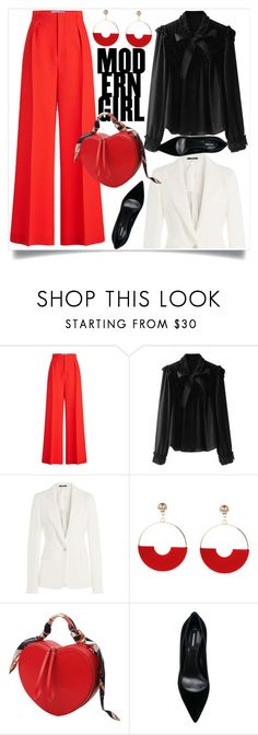"""""""Office Outfit"""" by amra-mak ❤ liked on Polyvore featuring Roland Mouret, Maison Margiela and Dsquared2"""