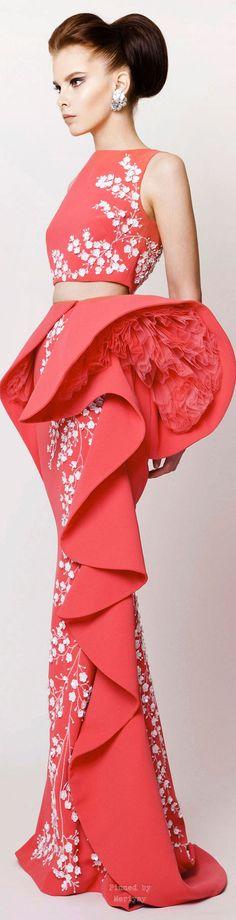 Azzi & Osta Spring-summer 2015. pink crop top fantasy fashion #UNIQUE_WOMENS_FASHION