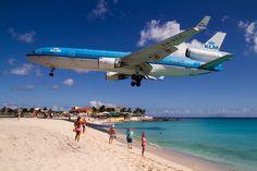 St Maarten, Maho beach,Caribbean, By Alika