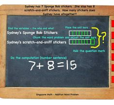 SIngapore Math Addition