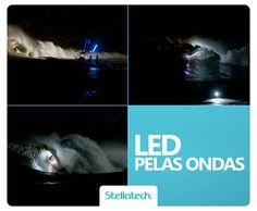 Led pelas Ondas. Para quem curte surf, essa ação é demais! Assista ao vídeo dos surfistas Axi Munian e Jerome Sahyoun surfando pela costa de Marrocos usando LED nas suas pranchas!