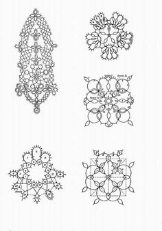 beading or tatting ? Needle Tatting, Tatting Lace, Needle Lace, Bobbin Lace, Tatting Patterns, Beading Patterns, Crochet Patterns, Tatting Earrings, Tatting Tutorial