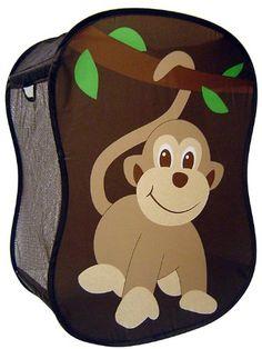 Starting Small Monkey Novelty Hamper in Brown,  18 x 11 x 24 Starting Small http://www.amazon.com/dp/B001I459AS/ref=cm_sw_r_pi_dp_LbHMvb1WV5FZ1