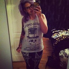 annso29 in her Pentangled Actual Pain Leggings from Craft and Culture. So cute!