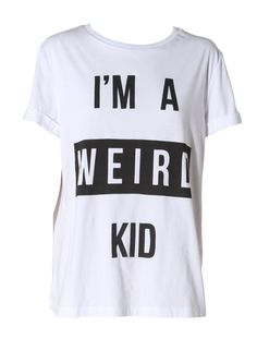 Lovin' T-shirts with meaning. I'm a weird kid from overmybody.com for €42/£30 Crazy Kids, T Shirt, Shopping, Weird, Tops, Fashion, Supreme T Shirt, Moda, Tee Shirt