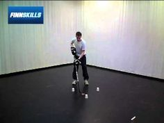 Close Control - Finnskills Technique Ball - Hockey Drills - YouTube