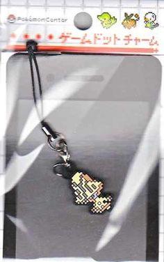 Pokemon Center 2012 Game Dot Charm Beheeyem Phone Strap