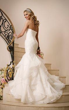 6046 Corset Wedding Dress by Stella York