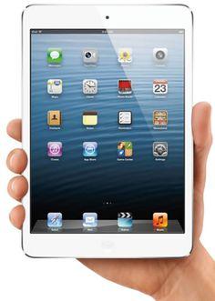 Apple Unveils New iPad Mini and iPad 4 Arriving November 2