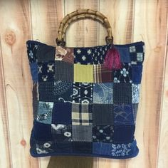 Boro, Japanese Things, Container, Quilts, Purses, Fabric, Handmade, Recycling, Bags
