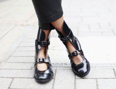 Details in street style. London Fashion Week SS 14