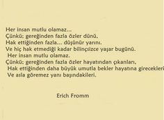 Gömülü resim Poem Quotes, Poems, Erich Fromm Quotes, Before I Sleep, Good Sentences, Make Peace, More Than Words, Cool Words, Psychology