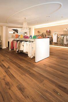 Tiger OAK gold, brushed, natural oil I Shops I natural wood floors I mafi.com