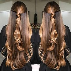 10 hair color ideas for Fall hair color ideas to copy this fall, they are super cute and you will look gorgeous with a new look. Choosing a new hair color for fall is Beautiful Long Hair, Gorgeous Hair, Brown Blonde Hair, Unique Hairstyles, Brown Hairstyles, Brown Hair Colors, Fall Hair, Balayage Hair, Hair Looks
