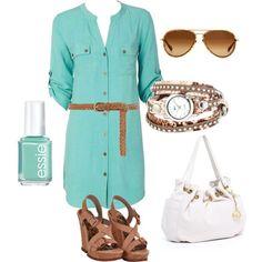 Polyvore Summer Outfits   Нови модни предлози за пролет-лето 2013 ...