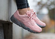 Puma R698 Winterized Coral Pink