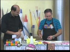 Flores e Folhas com Luis Moreira - Vitrine do Artesanato na TV - YouTube